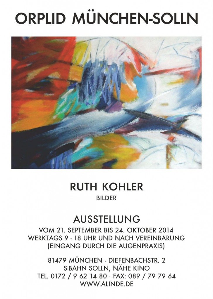 Plakat Ausstellung Kohler
