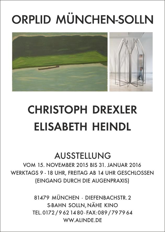 Plakat Drexler Heindl